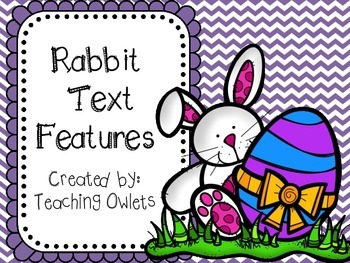 Rabbit Text Features Book