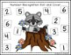 Raccoon Themed Roll & Cover Number Recogntion Sampler Pack