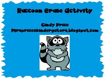 Raccoon erase and reveal
