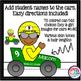 Race Car Clip Art * Numbered Race Cars 36 Boys 36 Girl Ima