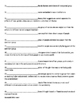 Race and Ethnicity Vocabulary Quiz or Worksheet for Sociology