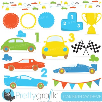 Race car clipart commercial use, vector graphics, digital