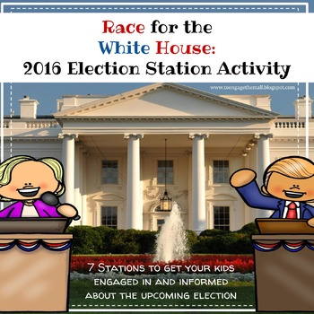 Race for the White House: 2016 Election Station Activity