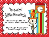 Race the Clock - Sight Word Fluency Practice Pack