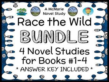 Race the Wild BUNDLE (Kristin Earhart) 4 Novel Studies : B