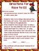 Race to 100 ~ Halloween Themed