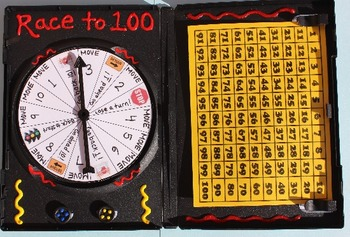 Race to 100- a counting on game