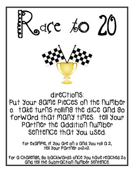 Race to 20