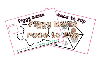 Race to 20p Piggy Banks game