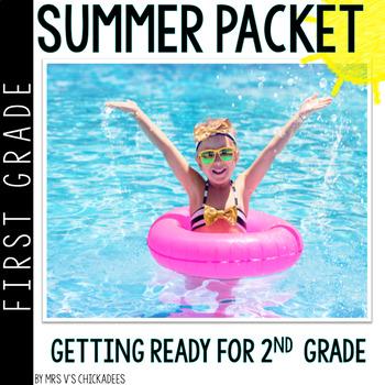 Race to Second (Grade): First Grade Summer Packet
