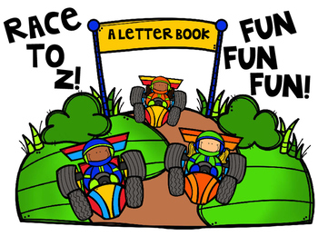Race to Z! A Letter Book!