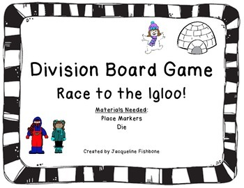 Race to the Igloo Division Board Game