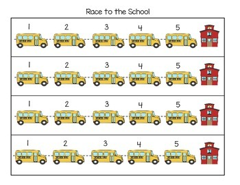 Race to the School - Letter Recognition Game