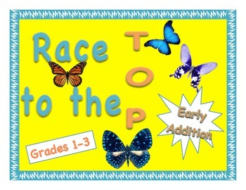 """""""Race to the Top"""" No-Prep Early Addition Game"""