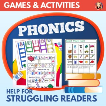Race to the Top - Short Vowel Review Learning Center 8 Games Pack