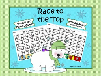 Race to the Top: Vowel, Blend and Math Games