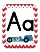 Racer/ Racecar Themed Classroom ABC's