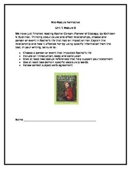 Rachel Carson: Pioneer of Ecology  Assessment