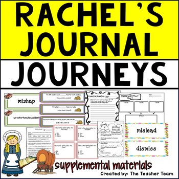 Rachel's Journal Journeys Fifth Grade Supplemental Materials