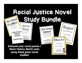 Racial Justice Novel Study Bundle