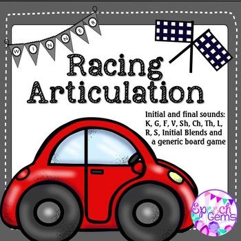 Racing Articulation Game