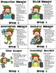 Racing Elfkins Cooperative Learning Role Cards