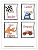 Racing Themed Classroom Set