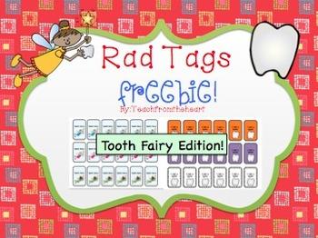 Rad Tags (Tooth Fairy Edition) FREEBIE