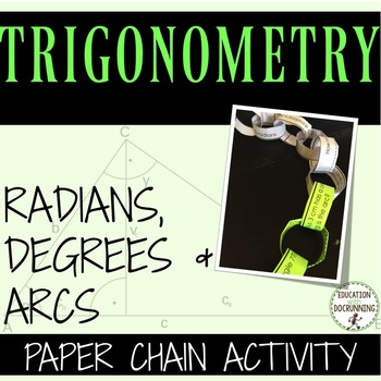 Radians, Degrees and Arcs: Mixed Review Practice of Radian