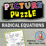 Radical Equations Picture Puzzle