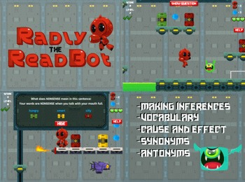 Radly the Readbot - Vocabulary, Inferences (Playable at Ro