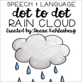 Rain Cloud {Speech & Language Dot Art}