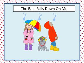 spring unit- Rain Falls Down on Me