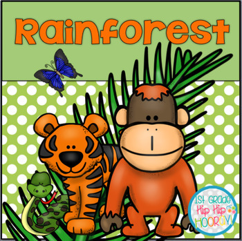 Rainforest...An adventure with crafts and activities!