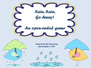 Rain, Rain, Go Away! {An open-ended game}