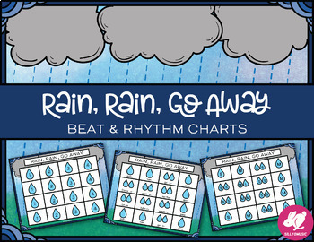 Rain, Rain, Go Away Rhythm and Beat Charts