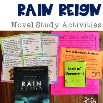 Rain Reign Read Aloud Activities