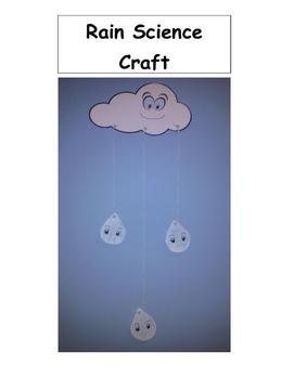 Rain Science Craft Activity