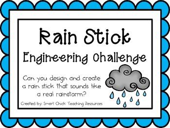Rain Sticks: Engineering Challenge Project ~ Great STEM Activity!