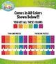 Rainbow 2 Piece Puzzles Clipart — Includes 36 Graphics!