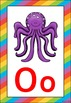 Rainbow 2 Themed Alphabet Posters Frieze {UK Teaching Resource}