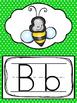 Rainbow Chevron Alphabet Posters. Preschool-Kindergarten