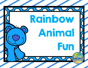 Rainbow Animal Fun