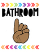 Rainbow Arrows Hand Signals (Target Inspired)