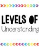 Rainbow Arrows Levels of Understanding (Target Inspired)