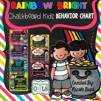Rainbow Bright Behavior Clip Chart
