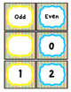Rainbow Bright Small Polka Dots Number Posters and Cards: