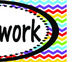Rainbow Chevron Assignments, Homework, Standards, and I ca