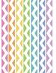 Rainbow Chevron Binder Covers