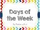 Rainbow Chevron Months of the Year & Days of the Week (Bun